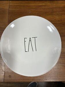 Kitchen Medium Sized Black And White Plates . Decorative Or Everyday Use !