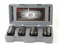 "New 4-Piece 1/2"" Drive Deep Metric Axle Nut Kit Impact Socket Set Ingersoll Rand"