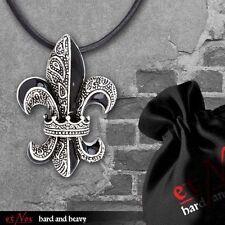 Modeschmuck-Halsketten & -Anhänger aus Emaille und Edelstahl