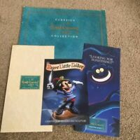 Walt Disney Classics Collection  original folder and brochures