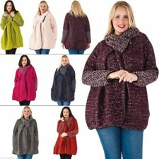 Hip Length Wool Asymmetrical Coats & Jackets for Women