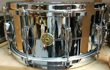 "Gretsch Snare Drum  USA 14x6,5"" Chrome over Brass USA / Rullante"