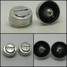 Classic Mini Metal Master Cylinder Cap 59-63 x2 17H3723 brake clutch bmc austin