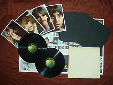 Beatles - MONO PMC 7067/68 Original UK 0012051 White Album NO EMI 1968 Double LP