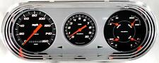1963-65 Chevy 2 Nova Classic Instruments Gauges Velocity Black NO63VSB 64 62