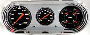 1963-65 Chevy 2 Nova Classic Instruments Gauges Velocity Black NO63VSB 64 62