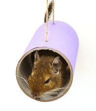 Chewchewbs (Purple) - Small pet toy, degu, rat, gerbil, hamster tube.