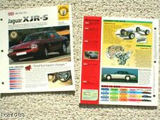 ANTIGUO JAGUAR XJ FOLLETOS/ROAD Tests Colección: XJS, 6 , C