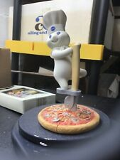 """Pillsbury Doughboy """"Cutting Edge Doughboy� Figurine Danbury Mint 2002"""