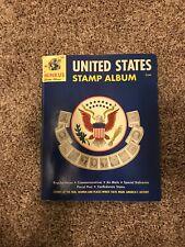 Minkus United States Stamp Album Circa 1962