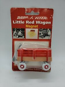 Vintage Radio Flyer Little Red Wagon Magnet Premium Collector Series in package