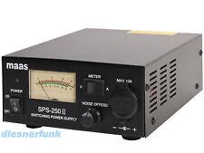 CB Funk & Amateurfunk Schaltnetzteil 13,8V DC 25 Ampere MAAS SPS 250-II Noise