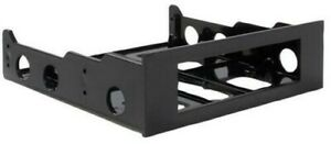 """BRACKET 3.5"""" HDD - 5.25"""" FRONT BAY Computer Products BRACKETFDBK PACK 1"""