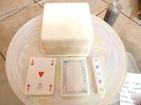 Carte da gioco Treviso 2 Mazzi Dal Negro Made in Italy + 5 dadi in scatola