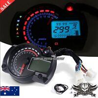 Universal Motorcycle LCD Digital Speedometer Motorbike Tachometer Odometer Gauge