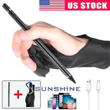 Sensitive Rechargeable Touch Screen Stylus Pencil Pen For Tablet iPad iPhone PC