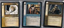 LOTR CCG Siege of Gondor Complete FOIL Set