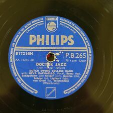 78rpm DUTCH SWING COLLEGE BAND doctor jazz / careless love blues