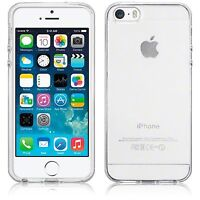 SDTEK Gel Case for iPhone 5 / 5s / SE Soft Silicone Transparent Clear