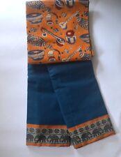 South Cotton pure handloom saree Mallard Blue