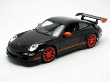 1/18 Welly PORSCHE 911 997 GT3 RS black  -  schwarz