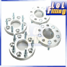 UK 4pcs 15mm Thick 5x114.3mm Wheel Adapter Spacer For Mitsubishi ASX Eclipse Evo