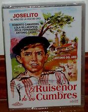 JOSELITO-EL RUISEÑOR DE LAS CUMBRES DVD NUEVO PRECINTADO NEW CINE ESPAÑOL R2