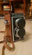 Super Rechoflex Vintage 1950s 35mm Twin Lens Reflex Camera WORKS,GREAT CONDITION