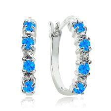 Diamond Heat & Pressure Sterling Silver Fine Earrings