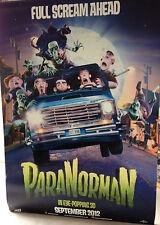 Cinema Banner: PARANORMAN 2012 (Car) Kodi Smit-McPhee Anna Kendrick