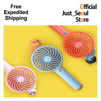 Official Kakao Friends Wireless Mini Handy Fan+Free Express 100% Authentic