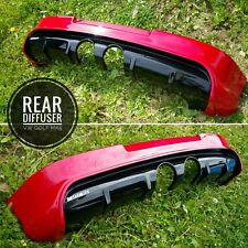 Rear Diffuser VW Golf 5 MK5 R32 GTI