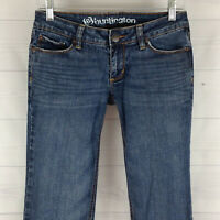 Bullhead Womens Size 3 LONG Stretch Medium Wash Huntington Flare Low Denim Jean