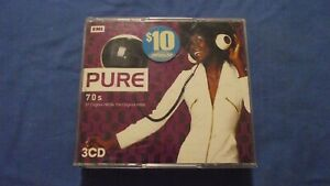 Pure 70s 57 Original Hits By The Original Artists 3 CD Fatbox- CD -Free Tracking