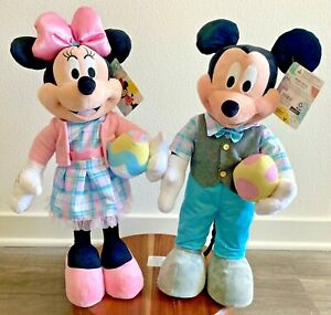 2021 Easter Disney Mickey and Minnie Door or Porch Greeters NEW RARE