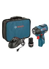 Bosch PS82-02 12V Max EC Brushless 3/8 In. Cordless Impact Wrench Kit NEW Tool