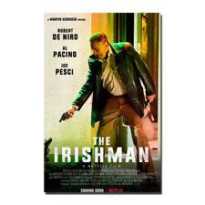 the Irishman Martin Scorsese Robert De Niro Al Pacino Art Silk Poster 13x20 inch