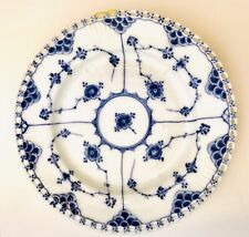 New Listing2 - Royal Copenhagen Denmark Blue Fluted Full Lace Salad Plates Very Good #9801