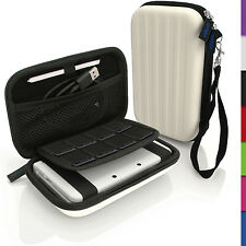 Weiß Hart Tasche Schutzhülle fur Nintendo 3DS XL 3DSXL 2DS XL 2DSXL Etui Case