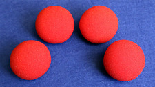 2 inch Regular Sponge Ball (Red) Bag of 4 from Magic by Gosh from Murphy's Magic