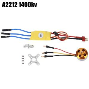 30A ESC Yellow+A2212 KV1000/KV1400/KV2200 Brushless Motor For RC Drone A2212