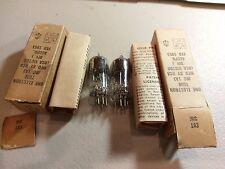 Pair Matched NOS JRC 1A3 RCA 1953 Date Military Grade Vacuum Tubes Guaranteed