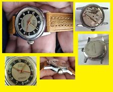 SWISS  1940-50' RARE MONTRE MILITARE homme 32 mm with crown x 36 handles