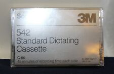 Dictating Cassette 3M 542  Standard  90 Minutes Recording Time
