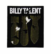 Billy Talent Patch Punk Rock Band