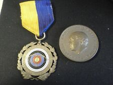 World championship in archery 1959 Stockholm Medal and coin