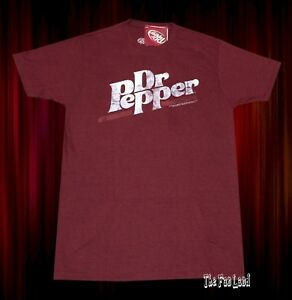 New Dr. Pepper Vintage 1985 Logo Classic Soda Mens T-Shirt