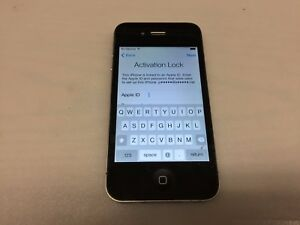 APPLE IPHONE 4 A1349 CDMA BLACK VERIZON (LOCKED-FOR PARTS)