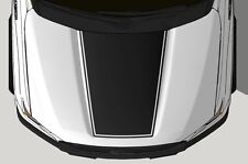 Vinyl Decal Wrap Kit for 2015-17 Ford F-150 Hood Graphic BLACKOUT V2 Matte Black