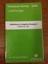 Aylesbury & Leighton Buzzard: OS Landranger Map 1:50000 Sheet #165